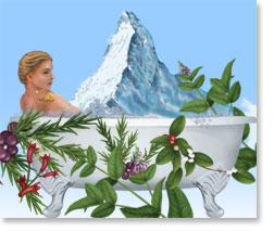 Olbas Herbal Bath Soothes, Relaxes, Tingles & Invigorates